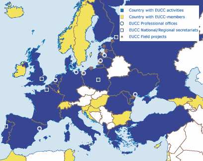 The European Network of the Coastal and Marine Union (EUCC)